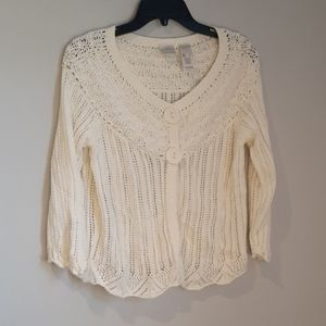 Emma James Sweater/Cardigan L